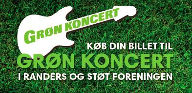 Støt Purhus Idrætsforening ved at tage til Grøn Koncert