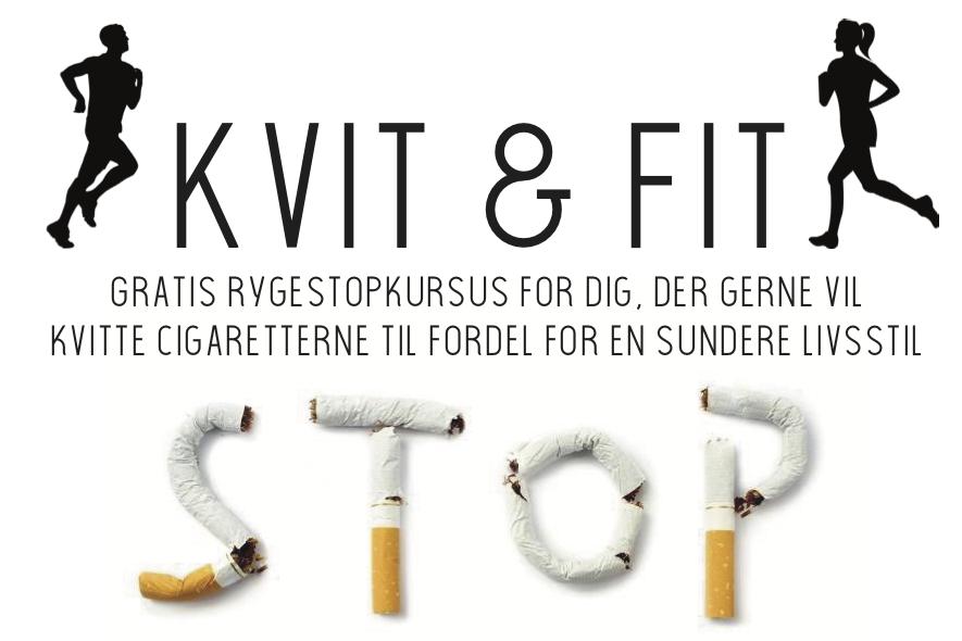 Gratis rygestopkursus: KVIT & FIT