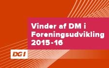 Vinder af DM i Foreningsudvikling 2015/2016