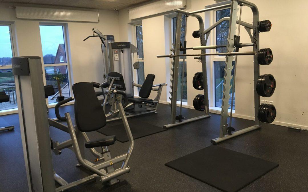 Begrænsede åbningstider i fitnesscenteret