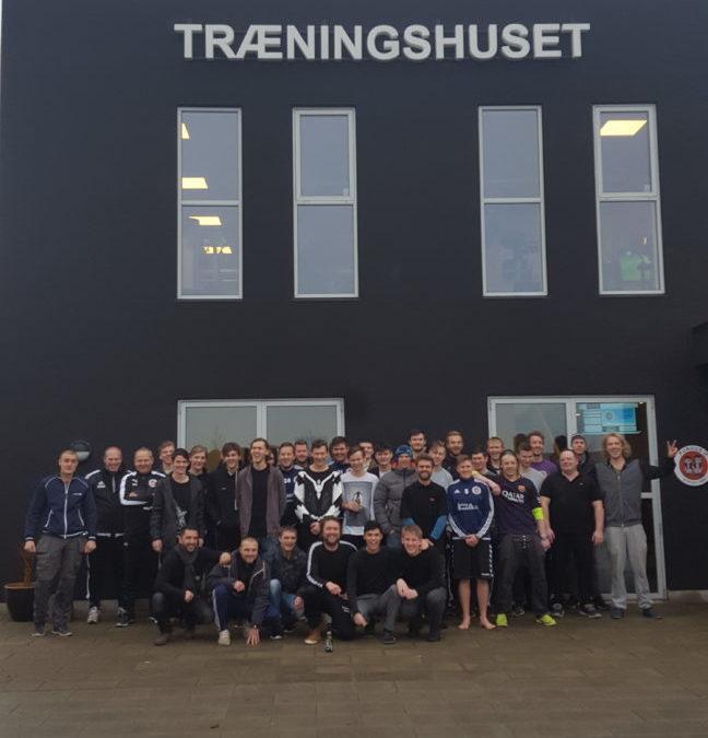 Senior fodbold : Flot fremmøde til opstart på 2017.