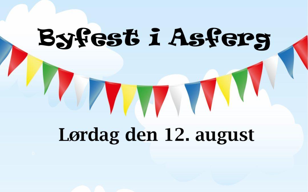 Sæt kryds den 12. august til Asferg Byfest!