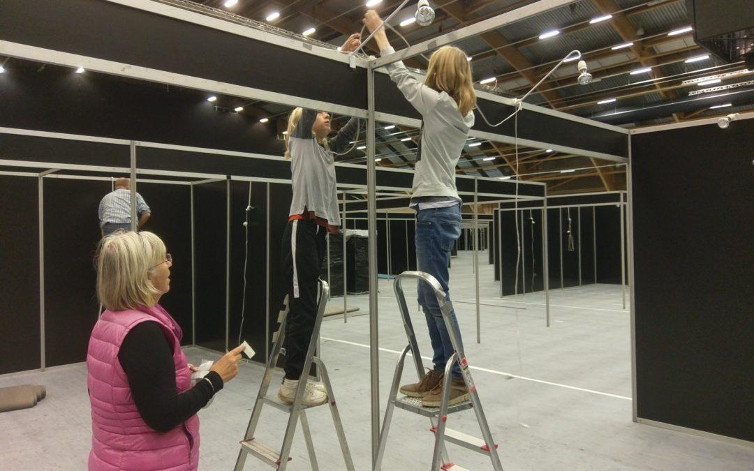 Tak til alle de frivillige for hjælpen ved messen i Aalborg