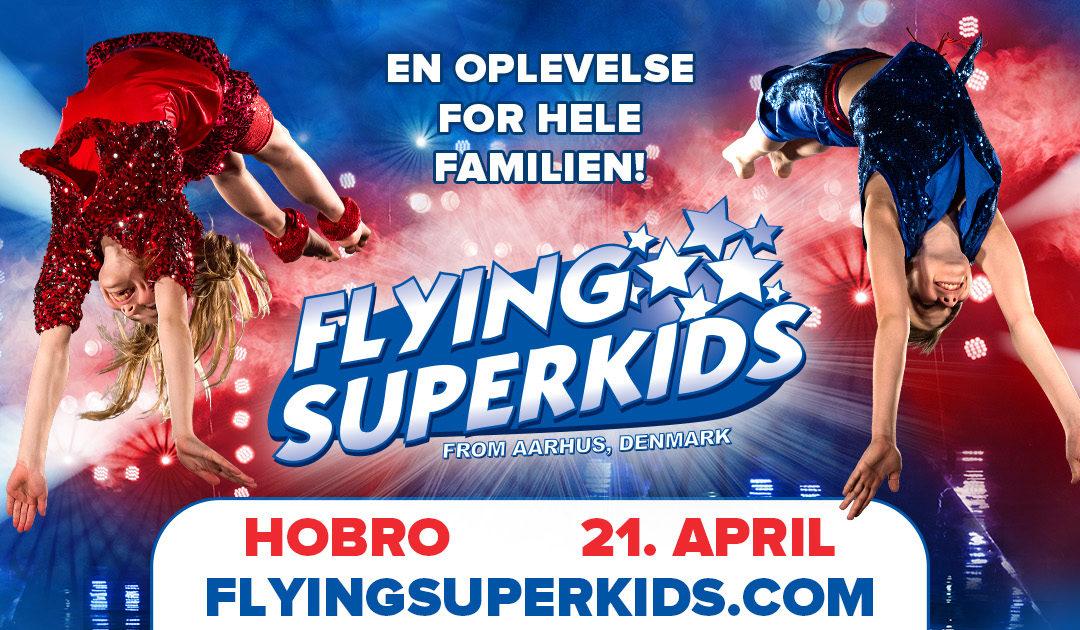 Få 15% rabat til Flying Superkids, med Purhus Idrætsforening!
