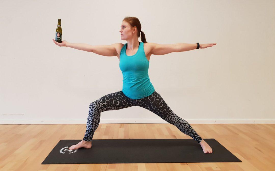 Øl-Yoga Event d. 2. februar 2019