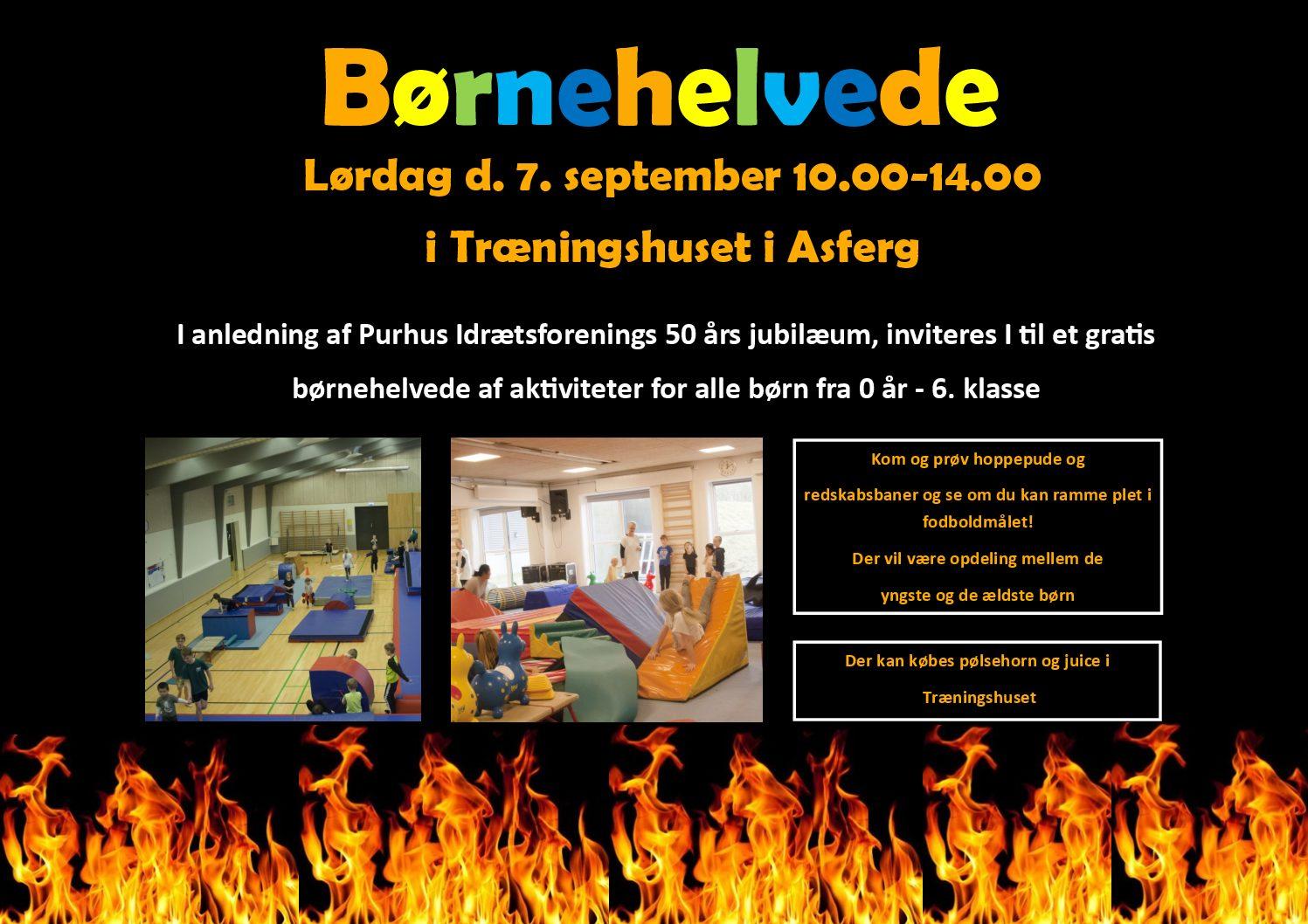 Børnehelvede lørdag 7. september 10.00-14.00