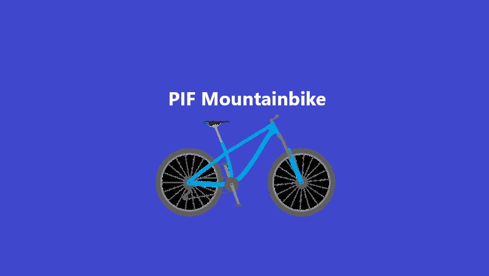 PIF Mountainbike starter op igen