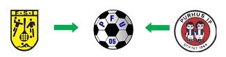 Træningstider for PFU05 fodbold