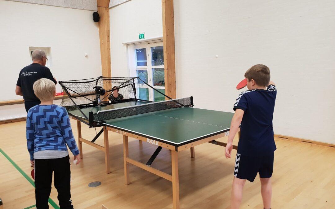 PIF inviterer alle unge bordtennis interesserede unge til træning
