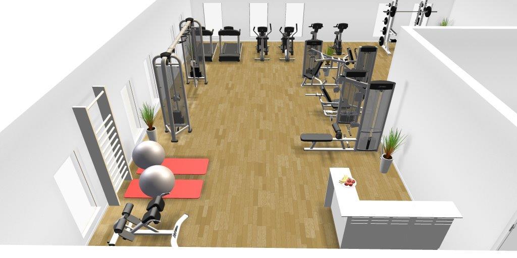 PIF tilbyder fitness i Træningshuset