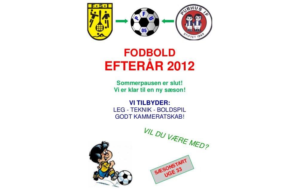 Fodbold program 2012