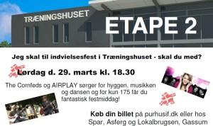 Træningshuset Indvielsesfest - facebook