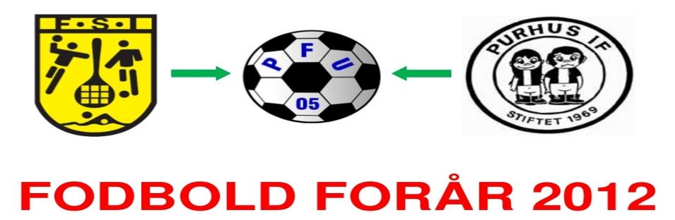 Fodbold forårsprogram 2012